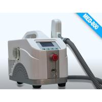 Cheap Black Portable Q- switched Laser Equipment for Birth Mark Removal / Eyeline cleaning for sale