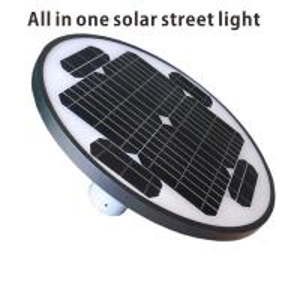 Cheap High Efficiency Solar Yard LED Street Lights Energy Saving USA Bridgelux Chip for sale