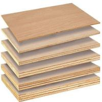 Cheap Poplar Core Commercial Grade Plywood For Home Decoration Furniture E1 Glue for sale