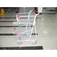 Quality Grocery Folding Shopping Trolley , collapsible shopping trolley wholesale