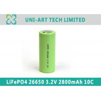 Buy cheap Best quality 10C discharge 26650 3.2V 2800mAh LiFePO4 battery for digital from wholesalers