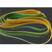 Cheap MK9 Tobacco Machinery Spare Parts Flat Power Transmission Belts Green Yellow for sale