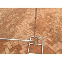 6'X12' Outdoor American Used chain link temporary construction fence for safety with feet