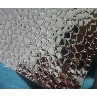 China PVDF Coated Embossed Aluminum Sheet 2500mm Width No Scratches For Lighting on sale