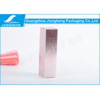 Quality Eco - Friendly Cosmetic Packaging Boxes With CMYK Printing , 53X53X185mm wholesale