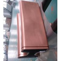 Cheap Dia 850mm Round tube And Bloom Sized Copper Mould Tube For CCM for sale