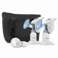 Cheap Electronic Breast Milk Pump in Various Materials/Sizes, Customized Logos are Welcome for sale