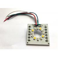 Cheap Triple Color Medical Camera Custom LED PCB Board 5V 120mA With IR 850nm Blue 470nm for sale