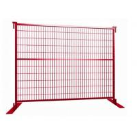 Cheap Powder Coated Temporary Fence panels 6ft x 10ft /1830mm x 2950mm for sale