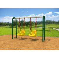 Cheap Outdoor Backyard Childrens Swing Set With Reinforced Connectors KP-G010 for sale