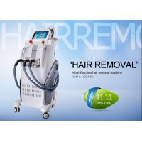 Cheap Professional IPL RF Beauty Equipment For Hair Removal , Permanent Hair Removal Machine for sale