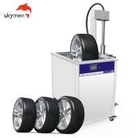 Cheap 453L Tire Cleaning Machine Ultrasonic Cleaner for Heavy Duty Truck for sale