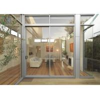Cheap Sound Isulation Aluminium Sliding Doors With Flyscreen For Residential for sale