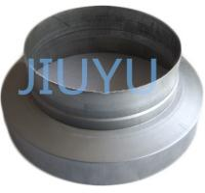 Cheap Acid Resistant Metal Duct Reducer Zinc 275mm For Fluid Transform for sale