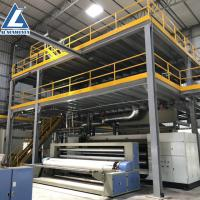 Buy cheap AL brand automatic 1600mm SS pp spun bonded spun bonded non woven fabric from wholesalers