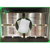 Buy cheap 250gsm to 400gsm Duplex Board One Side Grey Good Stiffiness In Jumbo Reels from wholesalers