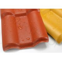 Waterproof Plastic Roof Sheets Noise Isolation Terracotta PVC Roof
