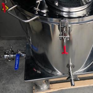 Cheap Jacketet Centrifugal Oil Separator Marihana cbd-ethanol Oil Extract Machine cbd Solvent Dewaxing Filter for sale