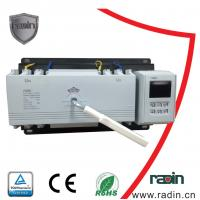 200 Amp Manual Transfer Switch 100A To 1250A With Auto Recovery Hotels 60Hz for sale