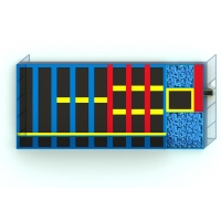 Buy cheap Amusement Jumping Shopping Mall Kids Indoor Trampoline from wholesalers