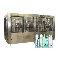 Buy cheap Pure Water Filling Machines Spring Rinser Filler Capper CE ISO SGS Certification from wholesalers