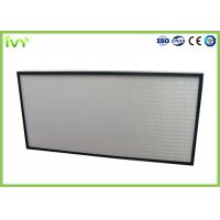 Cheap Easy Operated HEPA Air Filter Polyurethane Sealant With Aluminum Plate Frame for sale