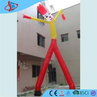 Cheap Durable outside Inflatable Advertising Man rental Wave - man CE / UL for sale