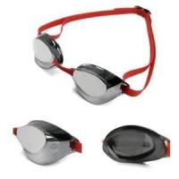 China Mirror coated fashion big swimming goggles anti fog for adult, women / female on sale