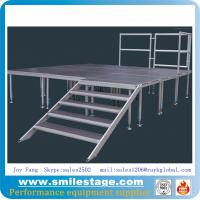 Cheap Aluminum Height Adjustable Plywood Stage for Events for sale