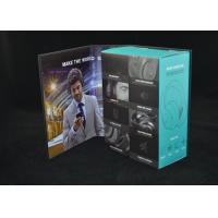 Cheap Wireless Bluetooth Headset Box Paper Packaging With Cardboard Flip Cover for sale