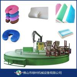 China LZ-907/803 series Slow rebound pu pillow memory foam sponge machine on sale