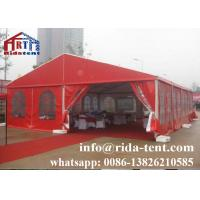 Buy cheap Professional Marquee Tent Wedding / Tempered Glass Garden Party Tent from wholesalers