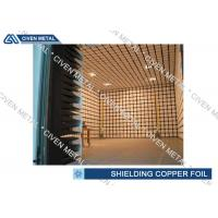 Cheap EMI / EMC Copper Shielding Foil / CCL FPC thin copper sheet for sale