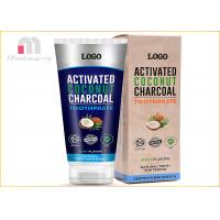Buy cheap Natural Vegan Charcoal Toothpaste For Bad Breath Tooth Stains Removal And from wholesalers