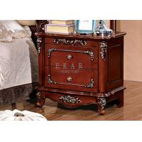 Cheap Nightstands Antique Bedside Table 2 Drawers for sale