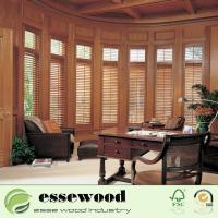 Cheap 2.5 Inch 3.5 Inch 4.5 Inch Louver  Customized Wooden Plantation Shutter for sale