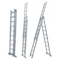 Cheap Industrial Aluminum Extension Ladder , Lightweight Aluminium Step Ladders for sale