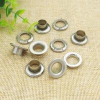Cheap Stainless Steel Small Metal Eyelets Round / Oval Shaped , 3mm-14mm Size for sale