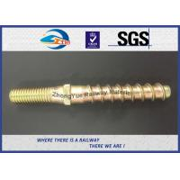 Cheap Hot Forging Railway Sleeper Screws Double End Special Track Bolt Customized for sale