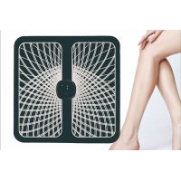 Cheap Rechargeable Pulse korea EMS folding Foot Massage mat with Remote Controller for sale