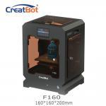 Cheap Metal Frame Creatbot F160 Peek 3d Printter Single Extruder 3d Printer 160*160*200mm for sale
