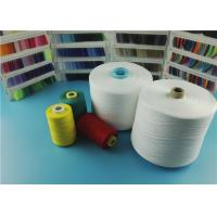 Raw White Dyeable Polyester Spun Yarn For Sewing Thread with Virgin Material Manufactures