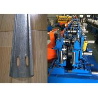 Cheap Automatic C Purlin Forming Machine , Purlin Making Machine Easy Installation for sale