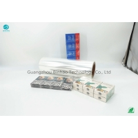 Cheap Heating Loss 6.0 300mm Tobacco PVC Packaging Film Mildew Resistance for sale