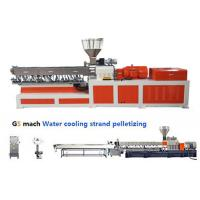 Cheap Electrical Control  PP ABS Double Screw Extruder Water Strand Pelletizing Line for sale