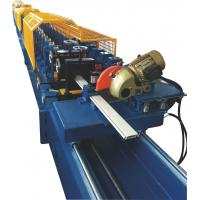 Cheap Galvanized Steel Shutter Roll Forming Machine With PU Foam Insulated 0.3~0.5mm Thickness for sale