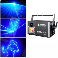 Buy cheap Newly upgraded Best quality 3 watt blue 3d laser 3w dj lights dmx+ilda+sd+2d+3d from wholesalers