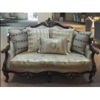 Cheap Living Room Fabric Classical Set Wooden Sofa Design for sale