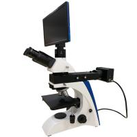 Cheap Industrial Video Metallurgical Digital Microscope With LCD Touch Screen for sale