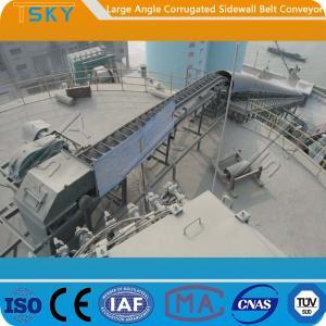 Cheap 120mm Corrugated Sidewall B800 Rubber Belt Conveyor for sale